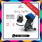 Quinny Zapp Flex Blue On Graphite Free Maxi Cosi & Bumper Bar (LIMITED TIME)