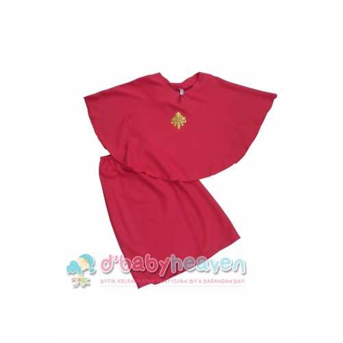 Kurung Batwing (Red)