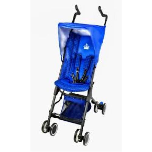 Little Royals Windsor Ultra Compact Folding Stroller-Royal Blue