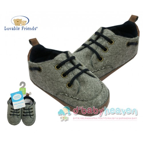 LUVABLE FRIENDS Wooly Sneakers 12-18m