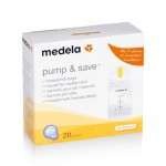Medela pump and save milk bag 20pieces