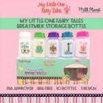 Milk Planet Breast Milk Storage Bottle  fairy tales - 10pcs 5oz