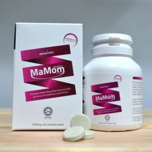 MaMom Milk Booster (Vanilla) 60's Chewable Tablet