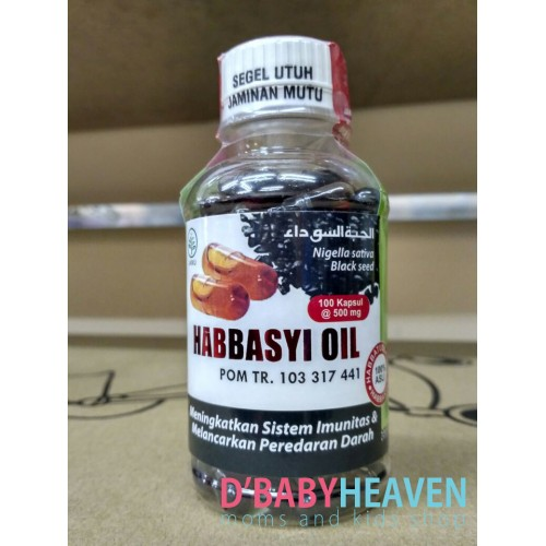 Habbasyi Oil (100pcs)