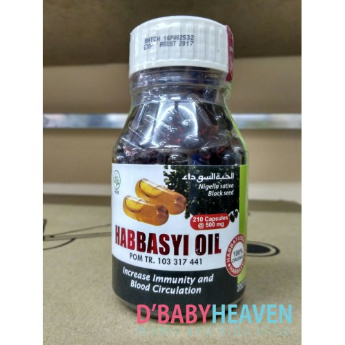 Habbasyi Oil (210pcs)