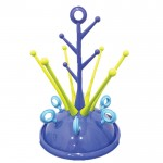 BABY PLANET Coral Deluxe Drying Rack - Blue