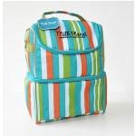 MILK PLANET Igloo Cooler Bag (Green Stripe)