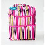 MILK PLANET Igloo Cooler Bag (Pink Stripe)