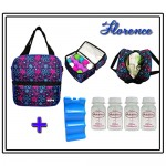 MILKY COOLER BAG - Florance COMPLETE SET 4PCS BOTTLE