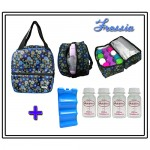 MILKY COOLER BAG - Fressia COMPLETE SET 4PCS BOTTLE