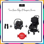 KOOPERS TAVO BASIC EDGE & DANZA COMBO (BLACK) FREE ADAPTOR WORTH RM59
