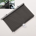 Car SunShield Auto Retractable Front Rear Windshield Sun Shade Cover Shield Blind Visor