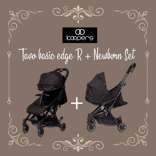 KOOPERS TAVO BASIC EDGE R + NEWBORN SET ( PREMIUM BLACK )