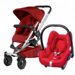 Quinny Buzz Xtra 4 - Red Rumour and Maxi-Cosi CabrioFix