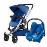 Quinny Buzz Xtra 4 - Blue Base and Maxi-Cosi CabrioFix