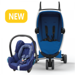 Quinny Zapp Xpress - All Blue and Maxi-Cosi CabrioFix at RM330
