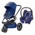 QUINNY Moodd Blue Base + Maxi-Cosi CabrioFix