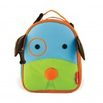 SKIP HOP Zoo Lunchie Insulated Kids Lunch Bag (Dog)