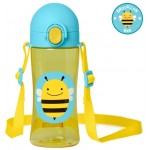 SKIP HOP Zoo Lock Top Sports Bottles Bee