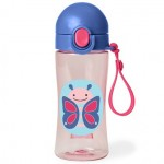 SKIP HOP Zoo Lock Top Sports Bottles Butterfly