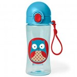 SKIP HOP Zoo Lock Top Sports Bottles Owl