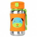 SKIP HOP Zoo Stainless Steel Bottle Dog