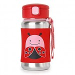 SKIP HOP Zoo Stainless Steel Bottle Ladybug