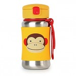 SKIP HOP Zoo Stainless Steel Bottle Monkey
