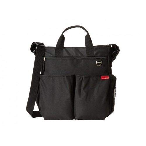 SKIP HOP Duo Signature Diaper Bag (Black) [2-3DAYS]