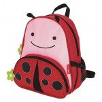 SKIP HOP Zoo Pack Little Kids Backpack (Ladybug)