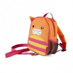 SKIP HOP Zoo Let Mini Backpack With Rein (Cat)