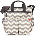 SKIP HOP Duo Signature Diaper Bag (Chevron)