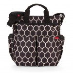 SKIP HOP Duo Signature Diaper Bag (Onyx Tile)