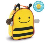 SKIP HOP Zoo Lunchie Insulated Kids Lunch Bag (Bee)