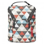 SKIP HOP Grab & Go Double Bottle Bag (Triangles)