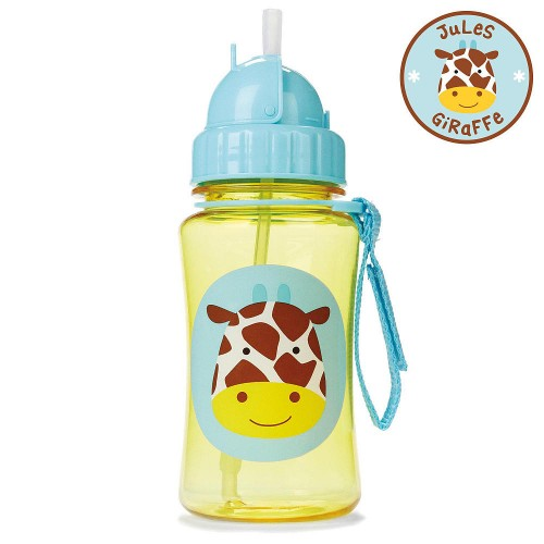 SKIP HOP Zoo Straw Bottle (Jules Giraffe)