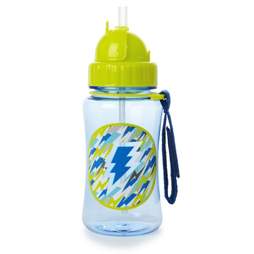 SKIP HOP Forget Me Not Straw Bottle (Lightning)