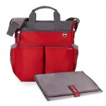 SKIP HOP Duo Signature Diaper Bag (Red) [2-3 DAYS]
