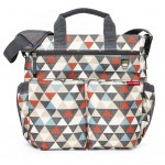 SKIP HOP Duo Signature Diaper Bag (Triangles)