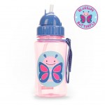 Skip Hop Zoo Straw Bottle (Blossom Butterfly)