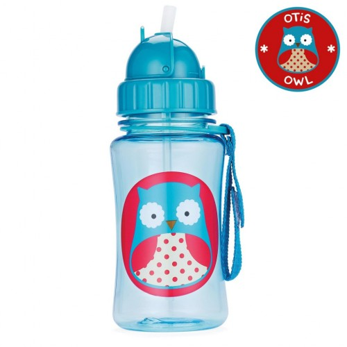 SKIP HOP Zoo Straw Bottle (Otis Owl)