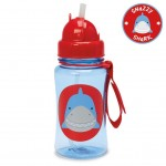 SKIP HOP ZOO STRAW BOTTLE (Snazzy Shark)