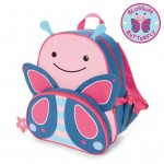 SKIP HOP Zoo Pack Little Kids Backpack (Butterfly)