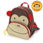 SKIP HOP Zoo Pack Little Kids Backpack (Monkey)