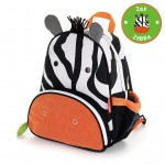 SKIP HOP Zoo Pack Little Kids Backpack (Zebra) [2-3 days]