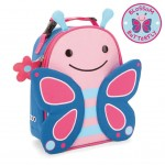 SKIP HOP Zoo Lunchie Insulated Kids Lunch Bag (Butterfly)