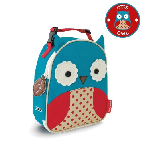 SKIP HOP Zoo Lunchie Insulated Kids Lunch Bag (Owl)