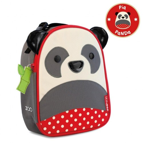 SKIP HOP Zoo Lunchie Insulated Kids Lunch Bag (Panda)