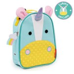 SKIP HOP Zoo Lunchie Insulated Kids Lunch Bag (Unicorn)