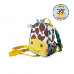 SKIP HOP Zoo Let Mini Backpack With Rein (Giraffe)